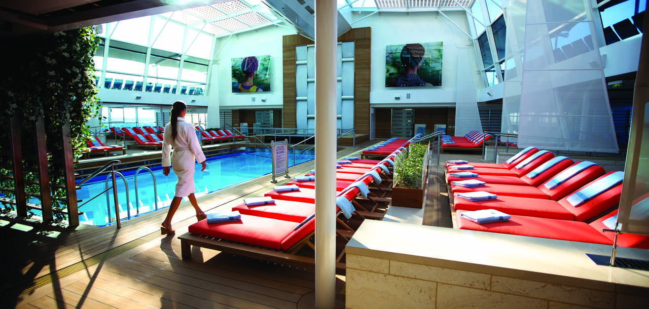 Celebrity Cruises | Celebrity Silhouette Pool side