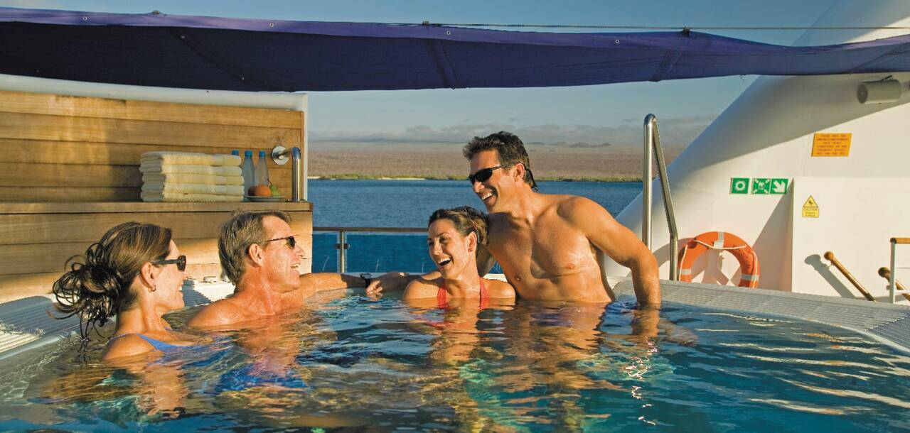 Celebrity Cruises | Celebrity Xpedition Hot Tub