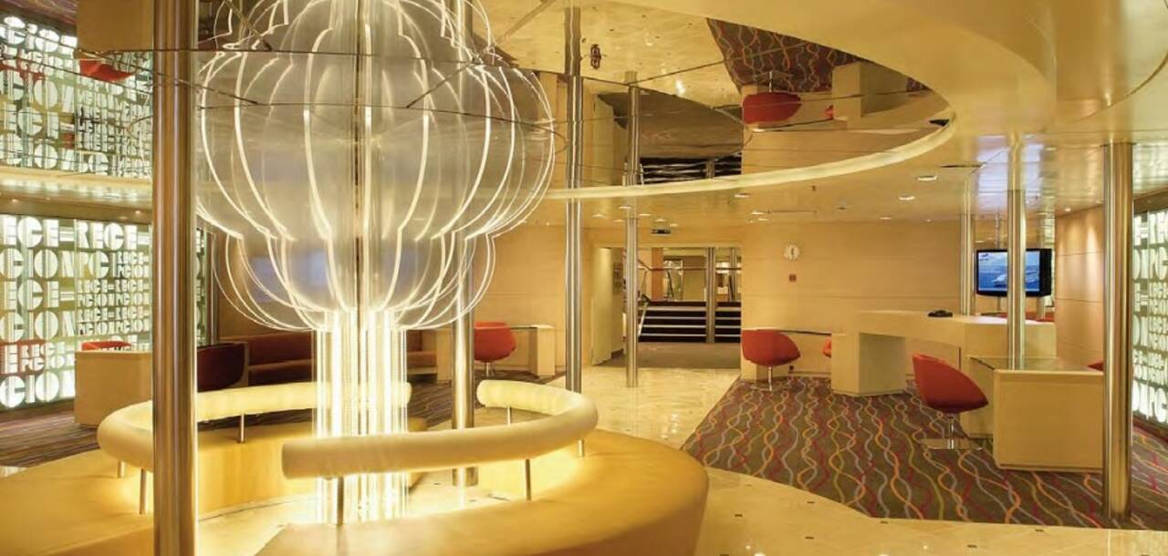 Cruise & Maritime Voyages | Magellan Main Reception Lobby