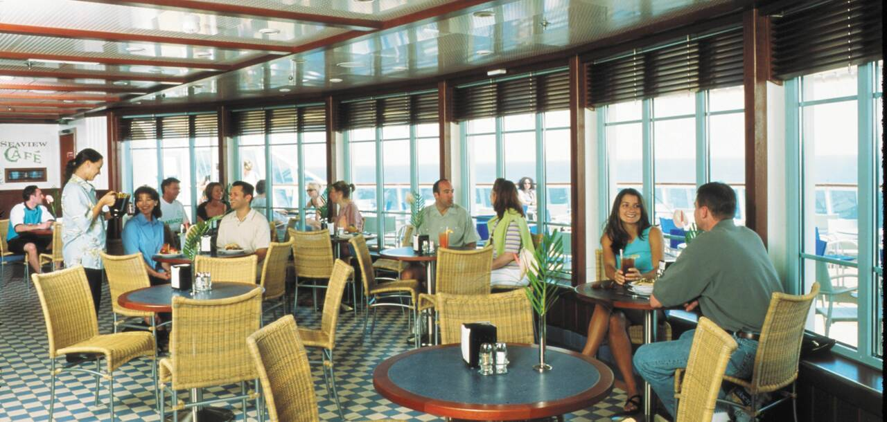 Brilliance of the Seas Seaview Cafe