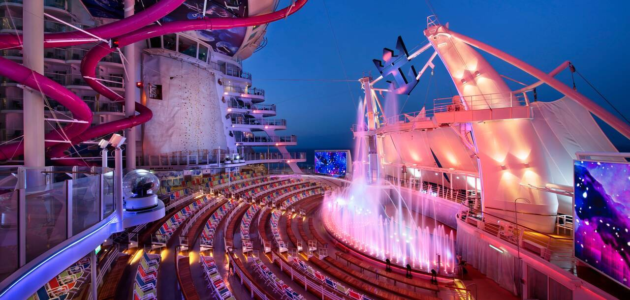 Harmony of the Seas Aqua theater