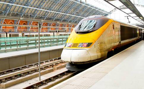 Transfer to the station for your return journey to London aboard the Eurostar