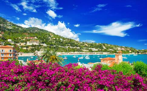 Nice (from Villefranche), France
