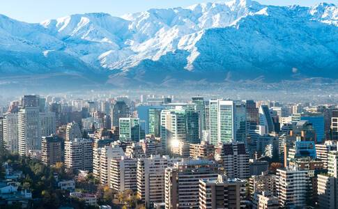 Transfer to a 4★ hotel in Santiago for your two night stay