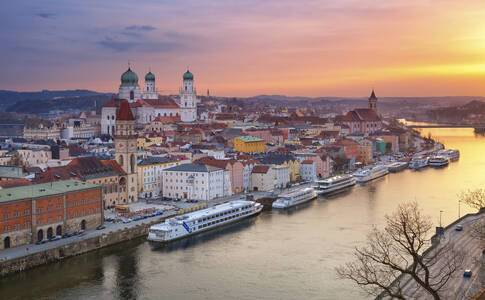 Linz - Passau, Germany