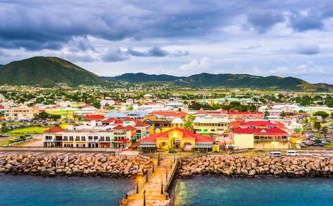 Carambola Beach, Saint Kitts and Nevis